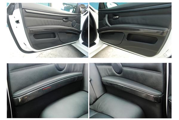 E92 interior dash kits(6 pcs),carbon-without i-drive 3