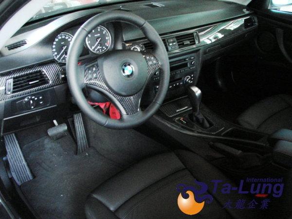 E92 interior dash kits(6 pcs),carbon-without i-drive 2